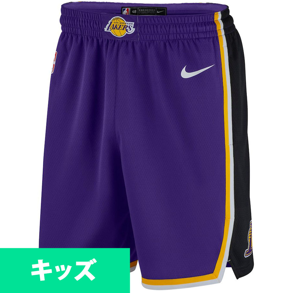 MLB NBA NFL Goods Shop  NBA Lakers short pants   shorts use statement  edition swing manno smart  Nike purple  1accc9aa589a