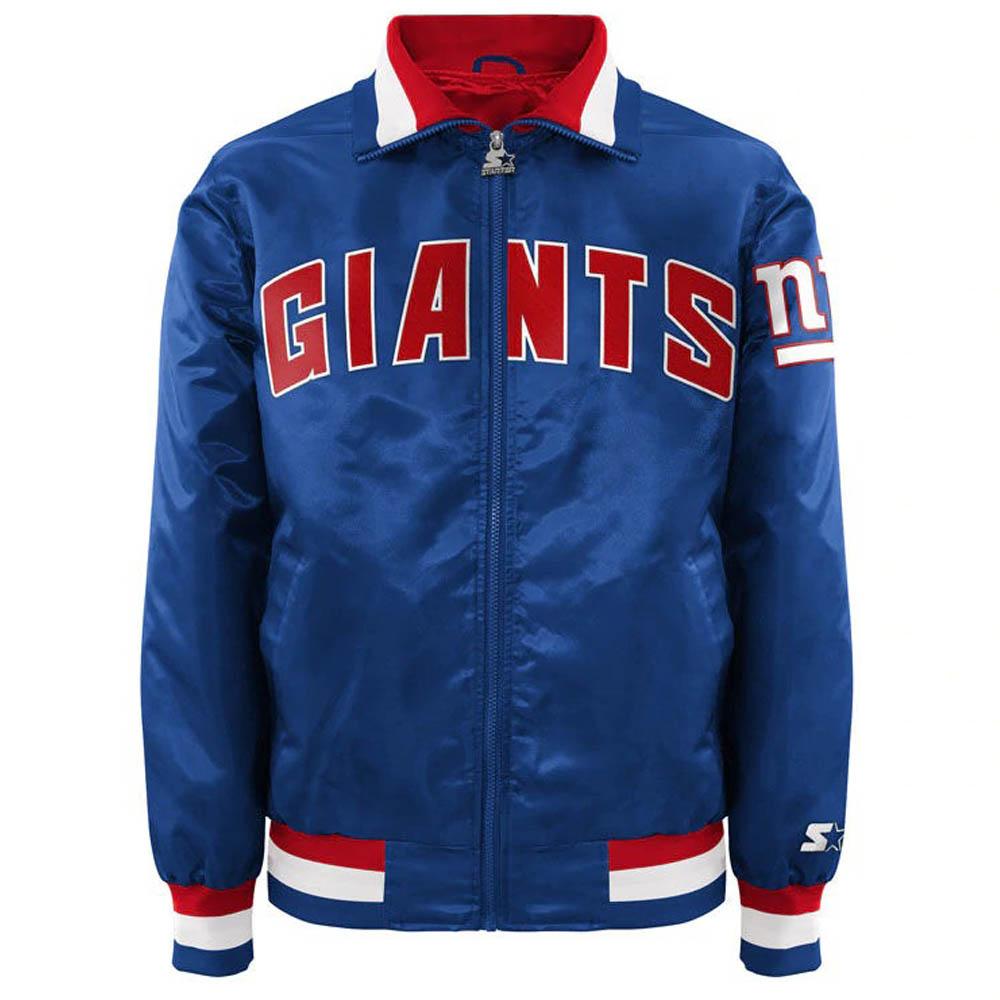 割引発見 お取り寄せ ブルー お取り寄せ NFL ジャイアンツ ジャケット キャプテン/アウター サテン キャプテン II お取り寄せ メンズ スターター/Starter ブルー, 縁こや:3b7d86dc --- konecti.dominiotemporario.com