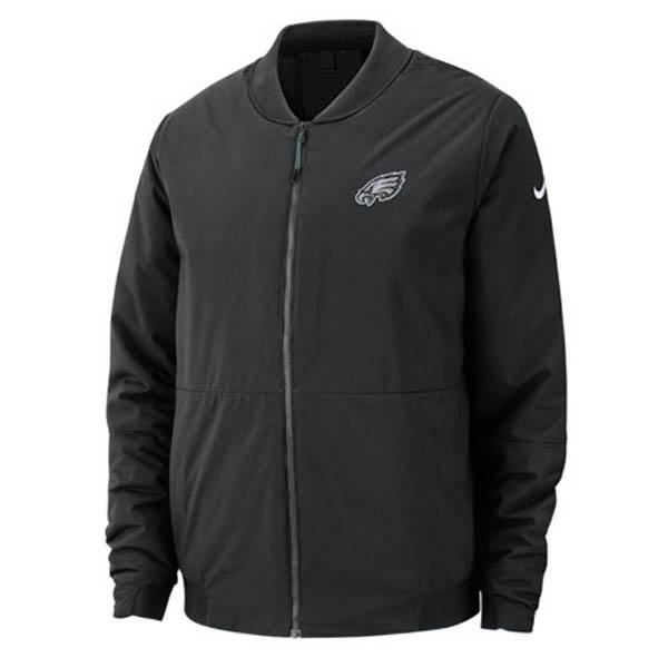 お取り寄せ お取り寄せ NFL イーグルス ジャケット/アウター ボンバー メンズ ナイキ/Nike ブラック