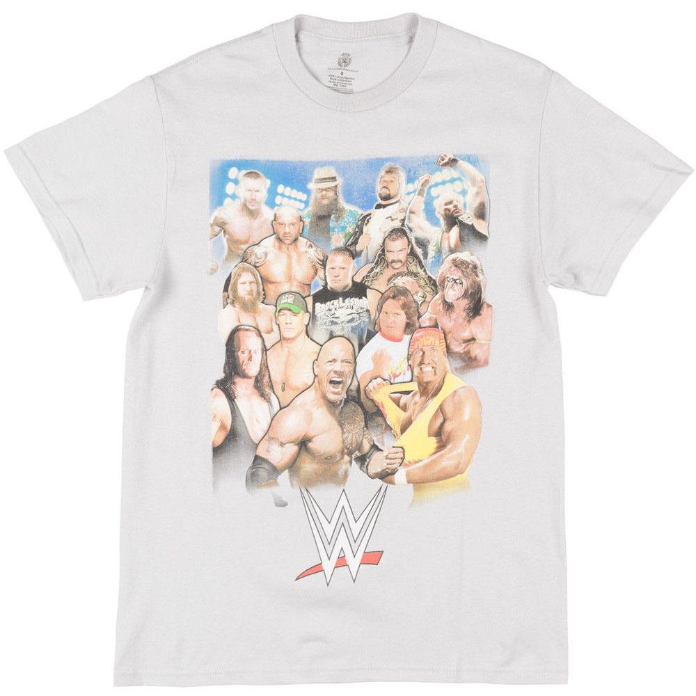 WWE Tシャツ レジェンド レッスル スターズ グレー【1910価格変更】