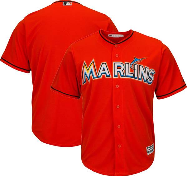お取り寄せ MLB マーリンズ レプリカ ユニフォーム/ジャージ クールベース マジェスティック/Majestic オレンジ