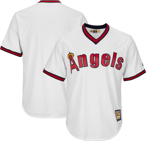 お取り寄せ お取り寄せ MLB エンゼルス レプリカ ユニフォーム/ジャージ クールベース マジェスティック/Majestic ホワイト