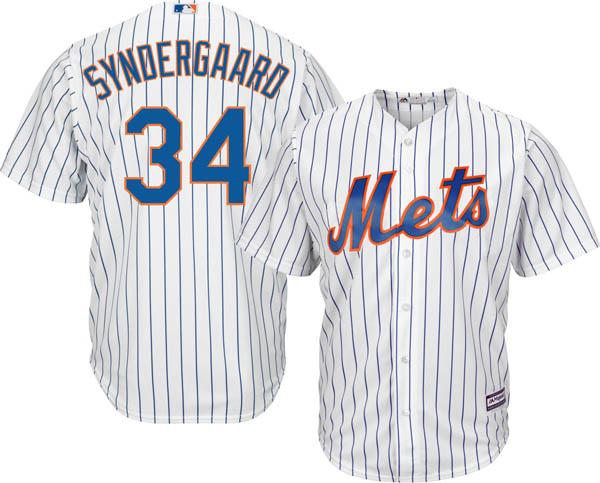 お取り寄せ お取り寄せ MLB メッツ ノア・シンダーガード レプリカ ユニフォーム/ジャージ クールベース マジェスティック/Majestic ホーム