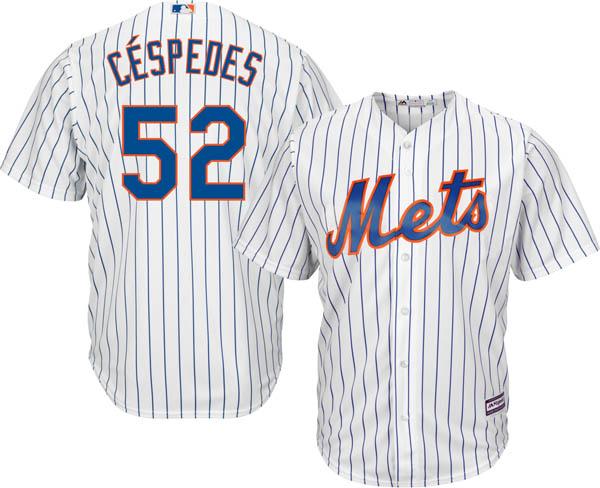 お取り寄せ お取り寄せ MLB メッツ ヨエニス・セスペデス レプリカ ユニフォーム/ジャージ クールベース マジェスティック/Majestic ホーム