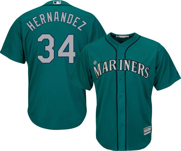 お取り寄せ お取り寄せ MLB マリナーズ フェリックス・ヘルナンデス レプリカ ユニフォーム/ジャージ クールベース オルタネート