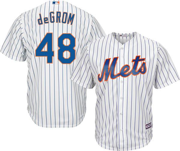 お取り寄せ お取り寄せ MLB メッツ ジェイコブ・デグロム レプリカ ユニフォーム/ジャージ クールベース マジェスティック/Majestic ホーム