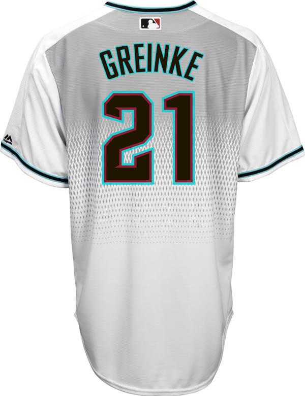Order MLB Diamondbacks rucksack Glyn key replica uniform   jersey cool base  Horta home 5119202f7