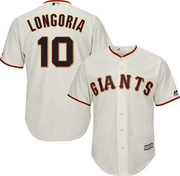 当社の お取り寄せ クールベース お取り寄せ MLB ホーム ジャイアンツ エバン・ロンゴリア レプリカ ユニフォーム/ジャージ お取り寄せ クールベース マジェスティック/Majestic ホーム, POMPADOUR:f6ef2819 --- supercanaltv.zonalivresh.dominiotemporario.com