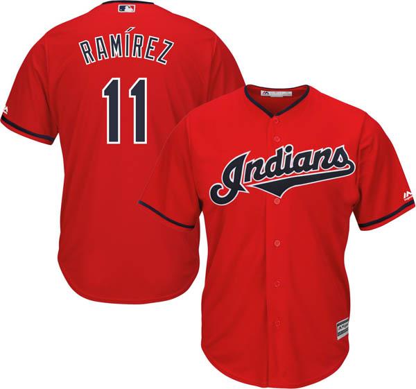 お取り寄せ お取り寄せ MLB インディアンス ホセ・ラミレス レプリカ ユニフォーム/ジャージ クールベース マジェスティック/Majestic オルタネート