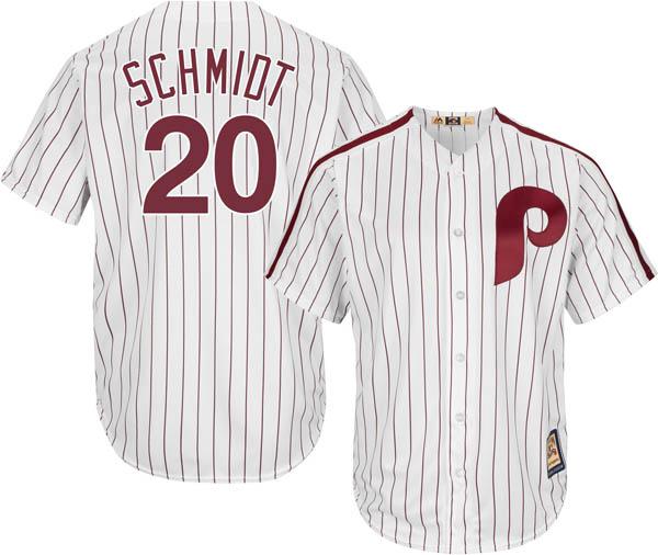 お取り寄せ お取り寄せ MLB フィリーズ マイク・シュミット レプリカ ユニフォーム/ジャージ クールベース マジェスティック/Majestic ホワイト