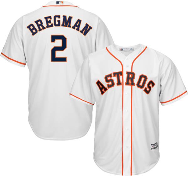 お取り寄せ お取り寄せ MLB アストロズ アレックス・ブレグマン レプリカ ユニフォーム/ジャージ クールベース マジェスティック/Majestic ホーム