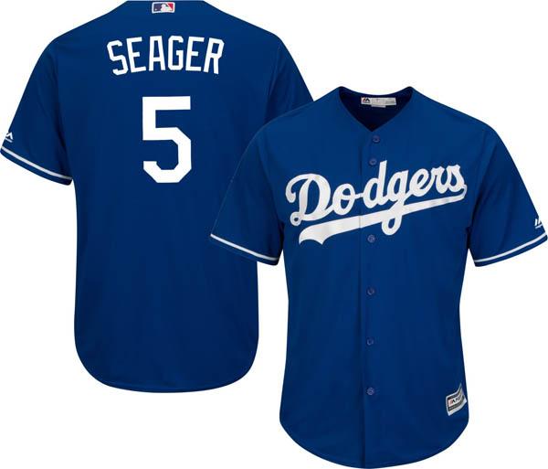 お取り寄せ お取り寄せ MLB ドジャース コーリー・シーガー レプリカ ユニフォーム/ジャージ クールベース マジェスティック/Majestic オルタネート