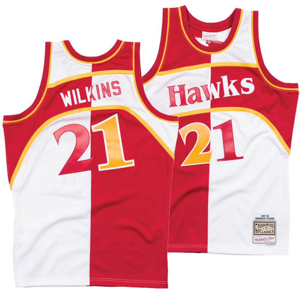 【おまけ付】 お取り寄せ お取り寄せ NBA お取り寄せ スプリット ホークス ドミニク・ウィルキンス NBA ユニフォーム/ジャージ スプリット スウィングマン ミッチェル&ネス/Mitchell & Ness, DOOON ショップ:f0385249 --- canoncity.azurewebsites.net