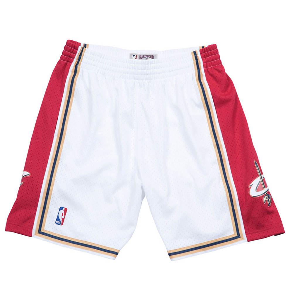 お取り寄せ お取り寄せ NBA キャバリアーズ ショートパンツ/ショーツ スウィングマン ミッチェル&ネス/Mitchell & Ness ホワイト