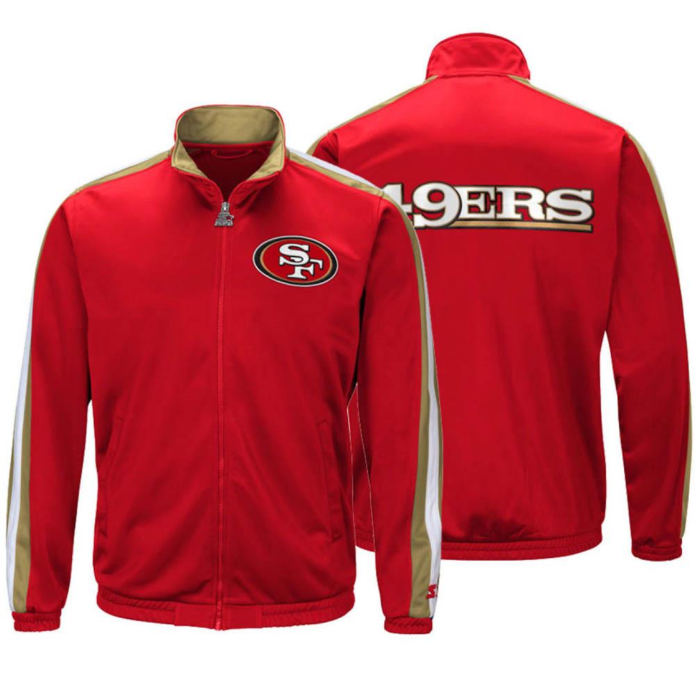 国内初の直営店 お取り寄せ お取り寄せ NFL 49ers ジャケット/アウター お取り寄せ チャレンジャー お取り寄せ トラックジャケット スターター NFL/Starter レッド, 由利郡:2b81642f --- paulogalvao.com