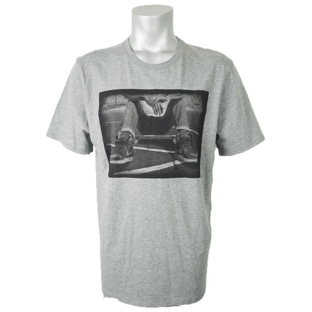 ナイキ ジョーダン/NIKE JORDAN Tシャツ エアジョーダン1 グレー AQ8032-091【1910価格変更】