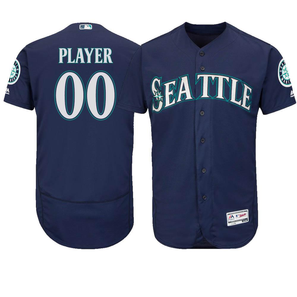 ご予約 お取り寄せ MLB マリナーズ ユニフォーム/ジャージ 選手着用 オーセンティック オルタネートネイビー