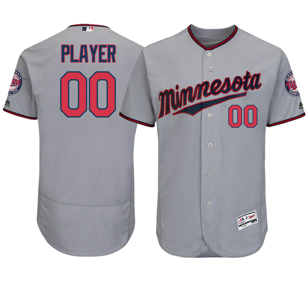 new product c1e66 7da64 MLB Twins uniform / jersey player wearing authentic road