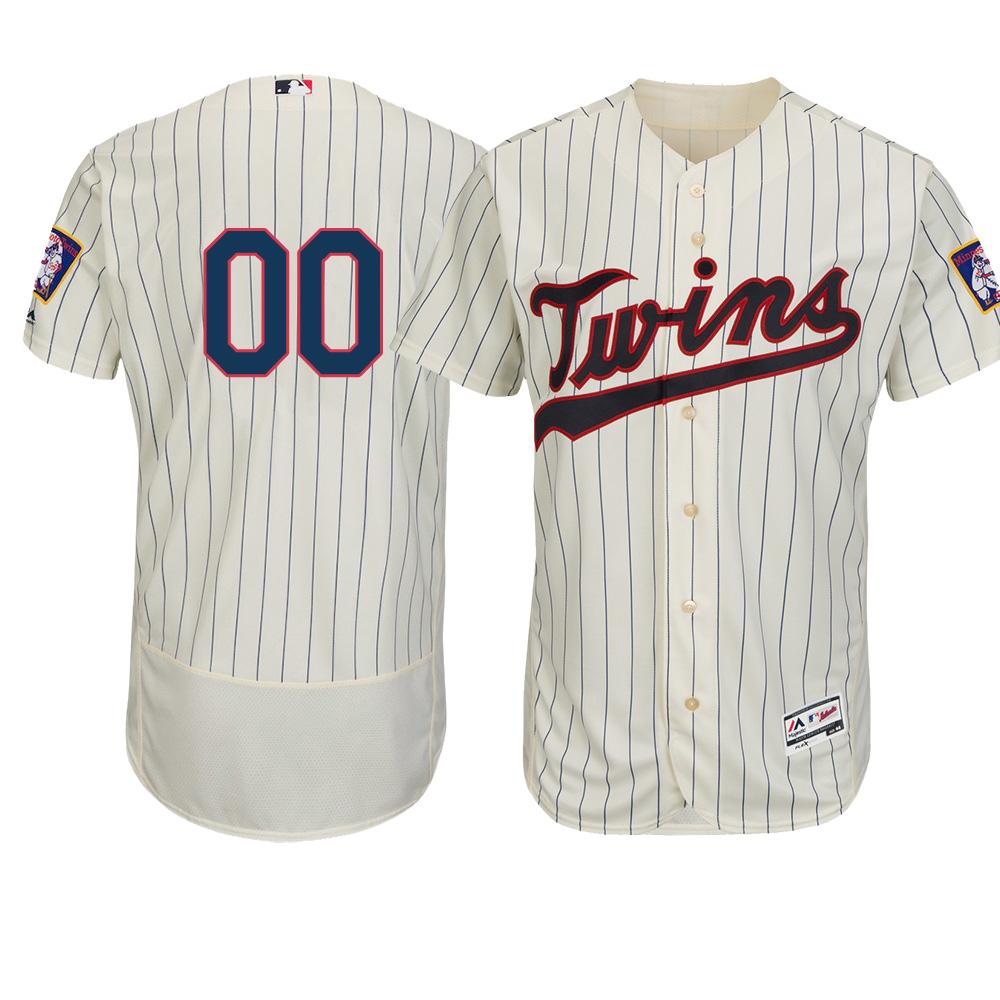 ご予約 お取り寄せ MLB ツインズ ユニフォーム/ジャージ 選手着用 オーセンティック オルタネートアイボリー