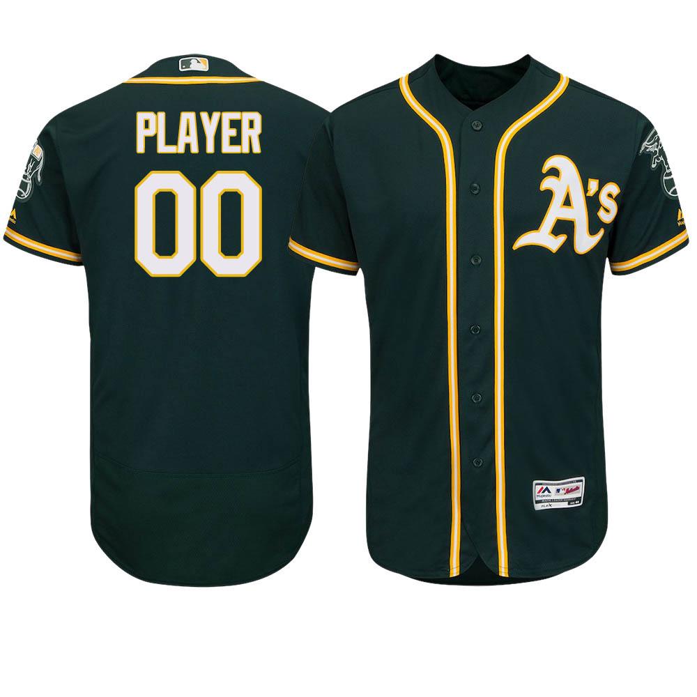 ご予約 お取り寄せ MLB アスレチックス ユニフォーム/ジャージ 選手着用 オーセンティック オルタネートグリーン