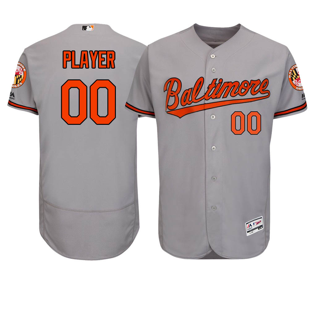 ご予約 お取り寄せ MLB オリオールズ ユニフォーム/ジャージ 選手着用 オーセンティック ロード