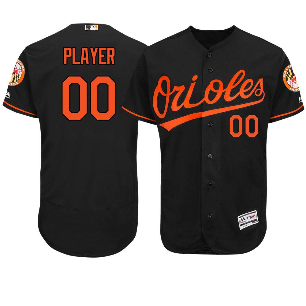 ご予約 お取り寄せ MLB オリオールズ ユニフォーム/ジャージ 選手着用 オーセンティック オルタネートブラック