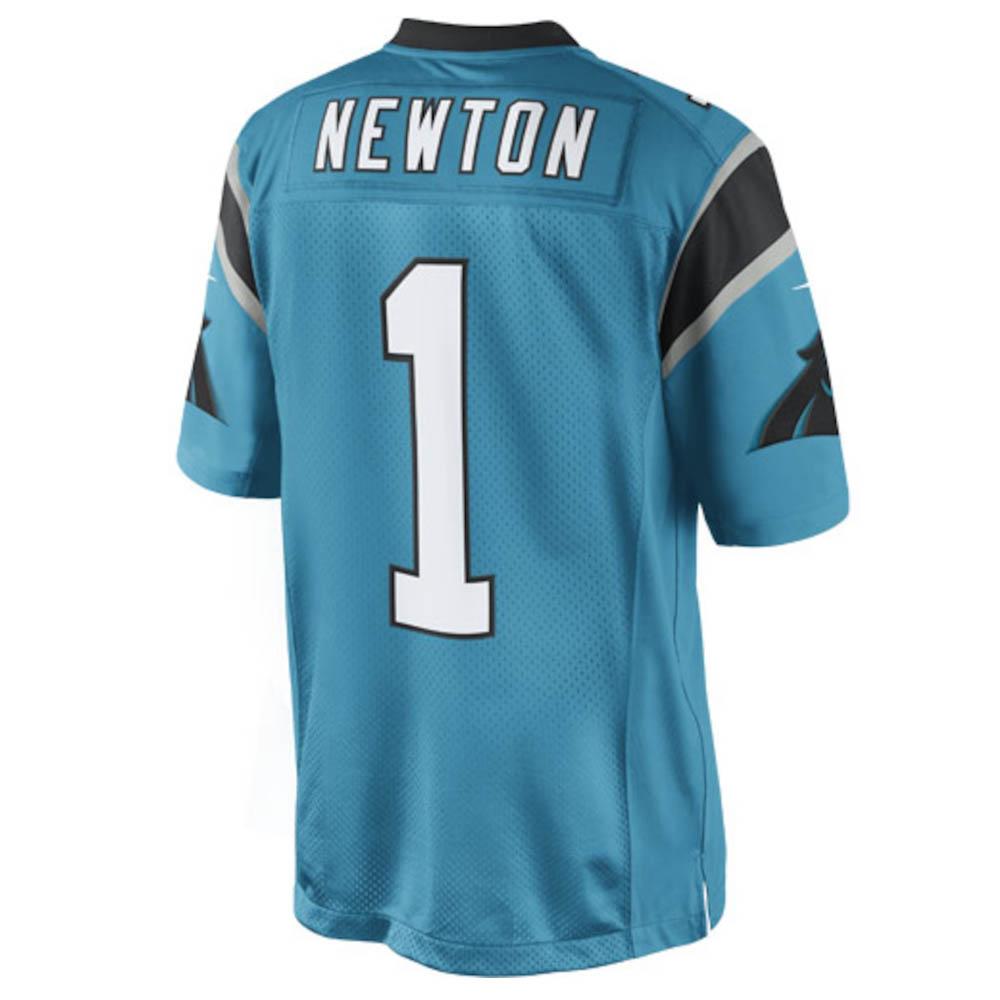 NFL パンサーズ キャム・ニュートン ユニフォーム/ジャージ リミテッド ナイキ/Nike パンサーブルー