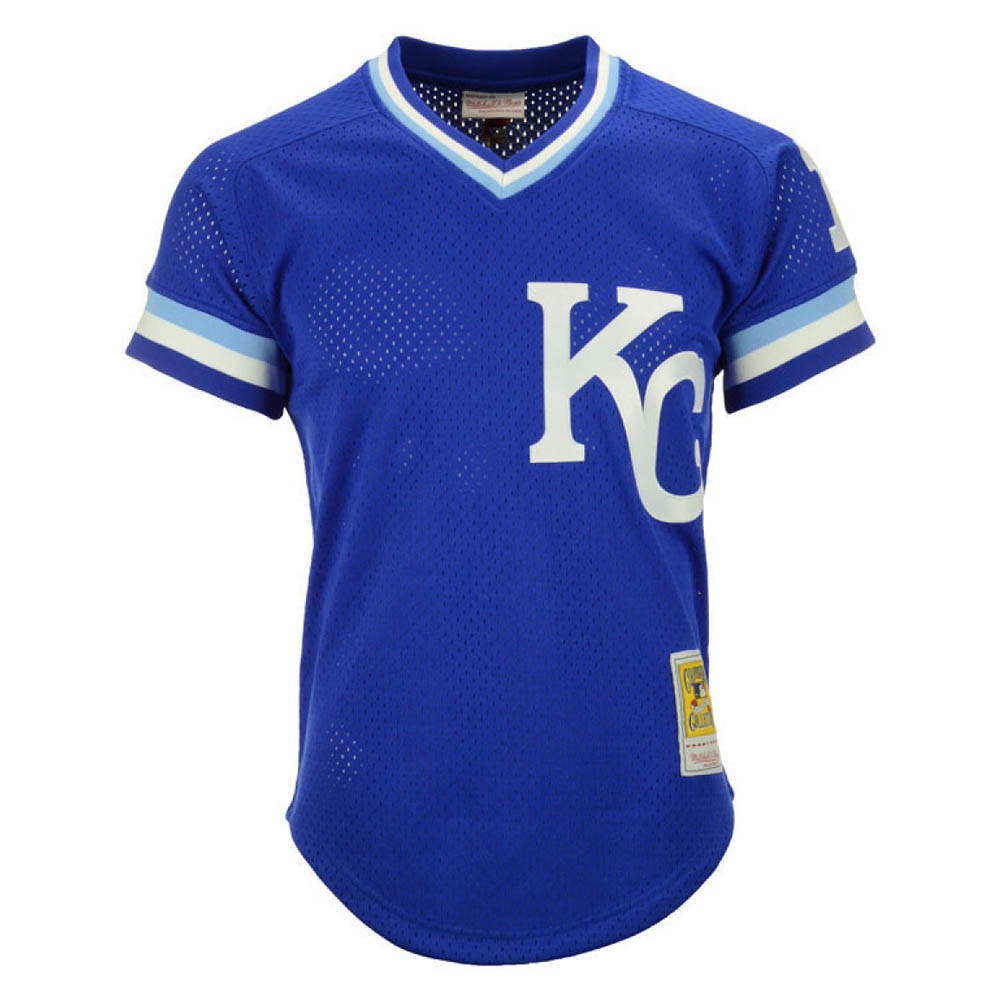 お取り寄せ お取り寄せ MLB ロイヤルズ ボー・ジャクソン ユニフォーム/ジャージ Authentic Mesh BP Mitchell & Ness ロイヤル