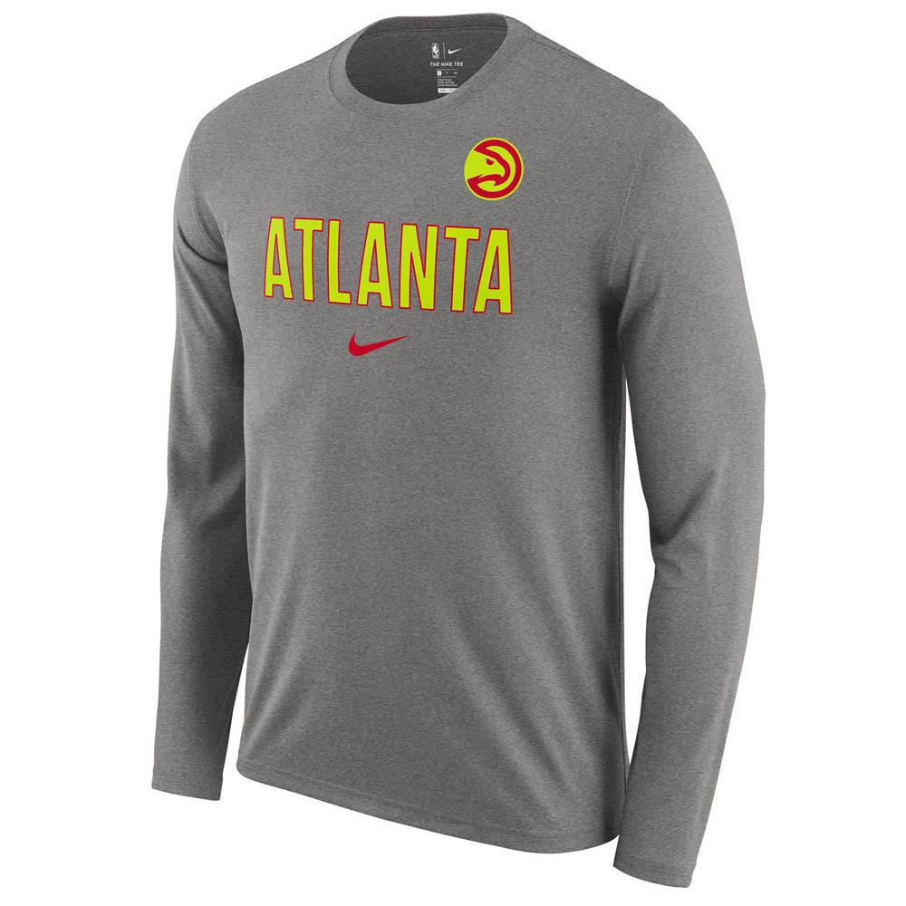 お取り寄せ お取り寄せ NBA ホークス ロングTシャツ ドライフィット ファシリティ 長袖 ナイキ/Nike AA0435-063