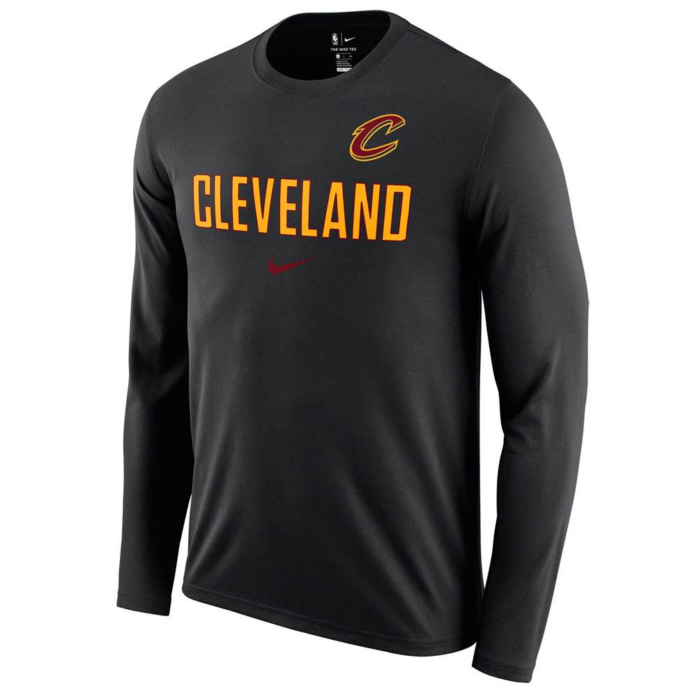 お取り寄せ お取り寄せ NBA キャバリアーズ ロングTシャツ ドライフィット ファシリティ 長袖 ナイキ/Nike AA0385-010