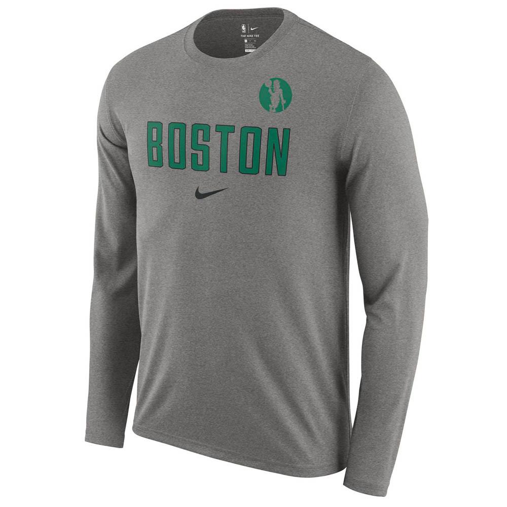 お取り寄せ お取り寄せ NBA セルティックス ロングTシャツ ドライフィット ファシリティ 長袖 ナイキ/Nike AA0381-063