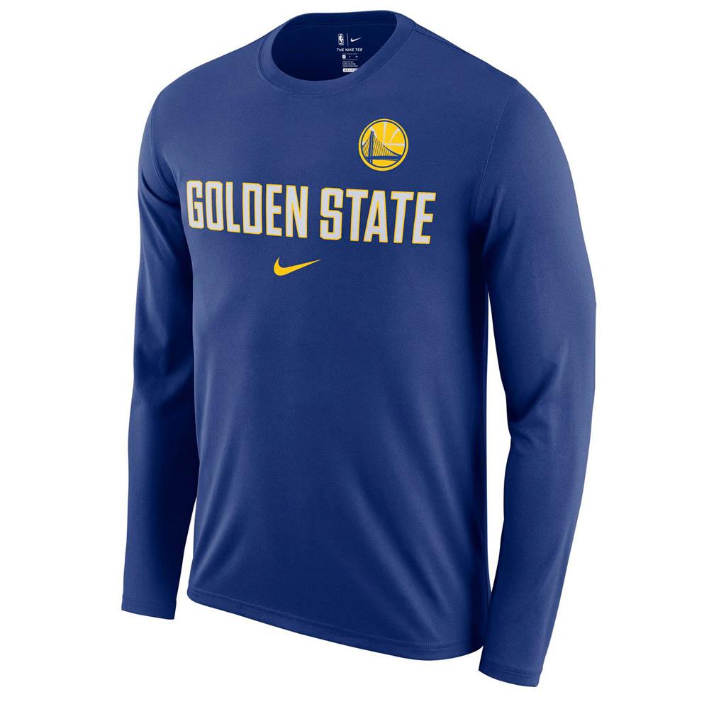NBA ウォリアーズ ロングTシャツ ドライフィット ファシリティ 長袖 ナイキ/Nike AA0393-495