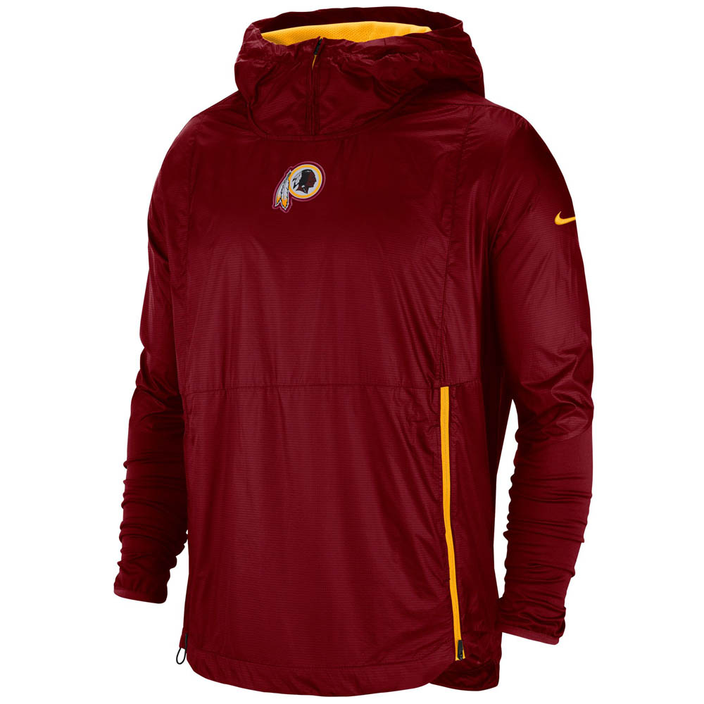 NFL レッドスキンズ ジャケット/アウター 選手着用 サイドライン フライ ラッシュ ナイキ/Nike レッド