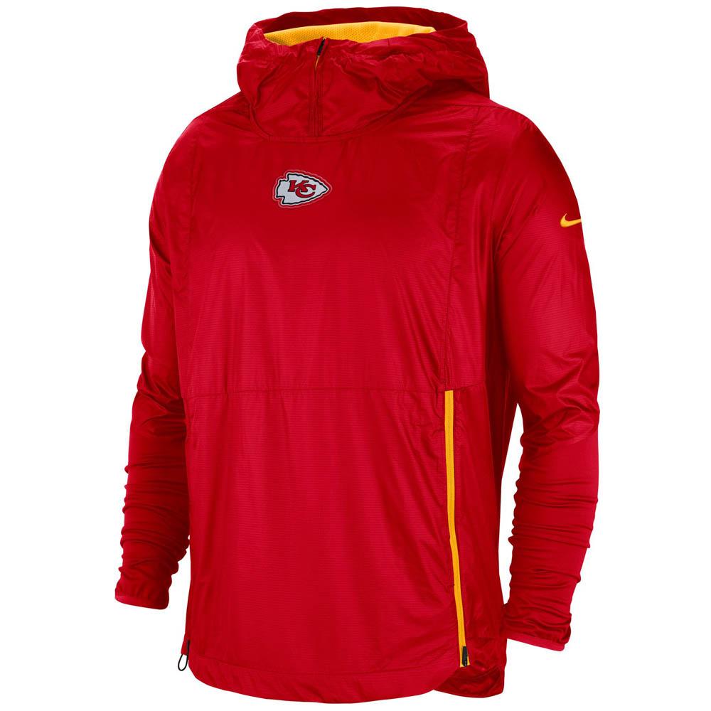 NFL チーフス ジャケット/アウター 選手着用 サイドライン フライ ラッシュ ナイキ/Nike レッド