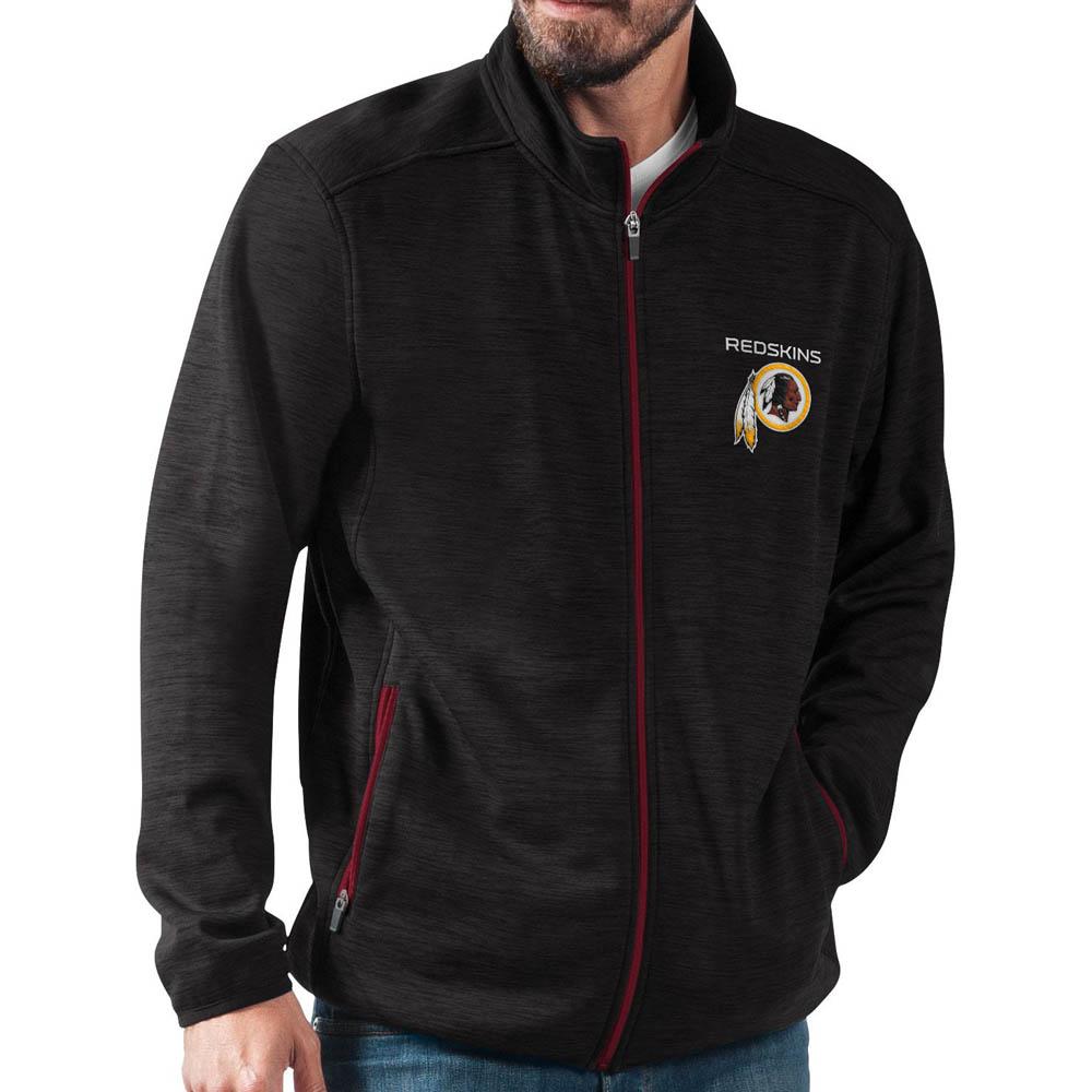 お取り寄せ NFL レッドスキンズ ジャケット/アウター ハイ ジャンプ ブラック フルジップ G-III