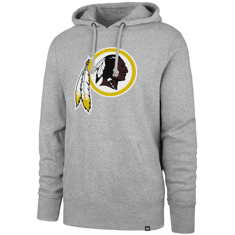 NFL レッドスキンズ パーカー/フーディー ヘッドライン グレー 47 Brand