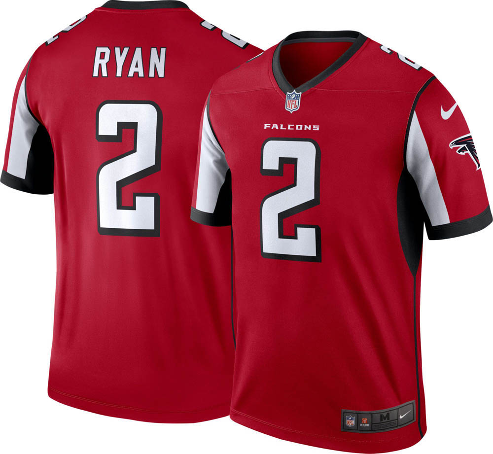 NFL ファルコンズ マット・ライアン ユニフォーム/ジャージ レジェンド ナイキ/Nike