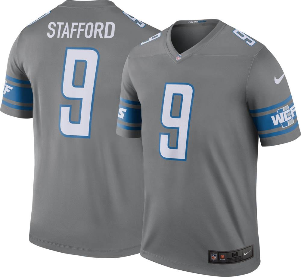 NFL ライオンズ マシュー・スタッフォード ユニフォーム/ジャージ カラーラッシュ レジェンド ナイキ/Nike