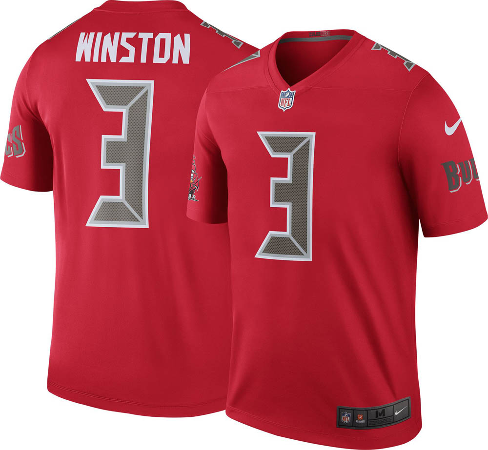 NFL バッカニアーズ ジェイミス・ウィンストン ユニフォーム/ジャージ カラーラッシュ レジェンド ナイキ/Nike