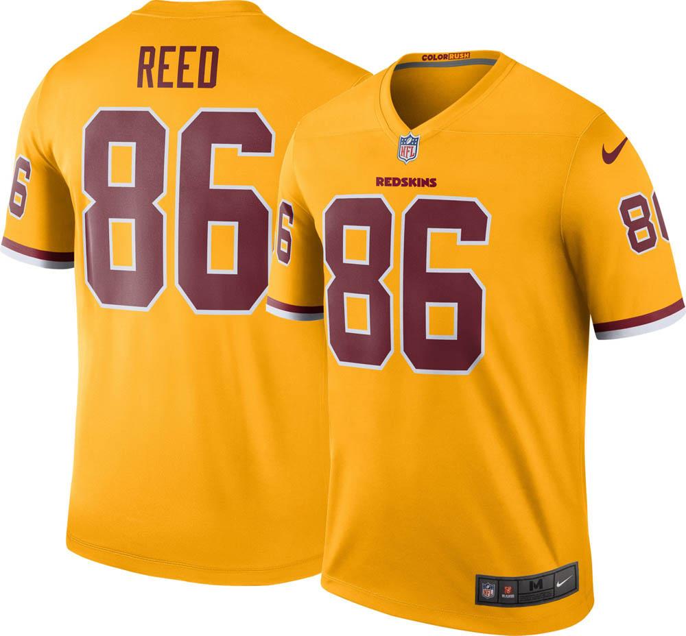 wholesale dealer 850c7 1eea8 NFL Redskins Jordan lead uniform / jersey color rush legend Nike /Nike