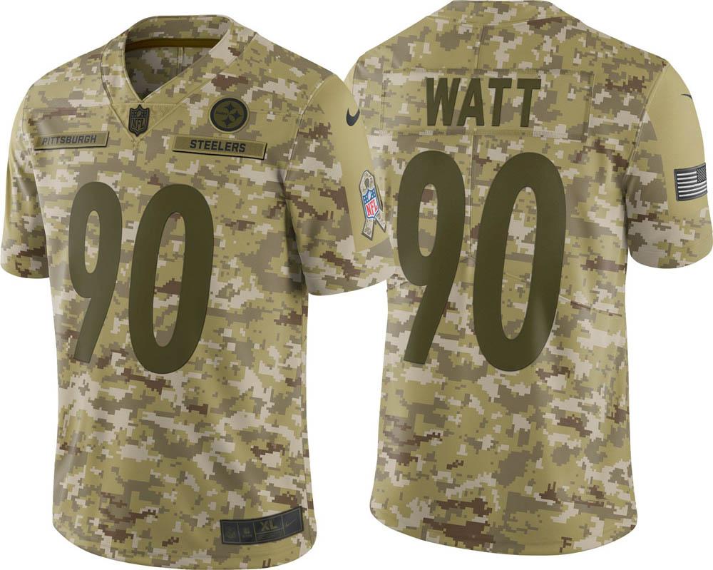 NFL スティーラーズ T.J. ワット ユニフォーム/ジャージ Salute to Service リミテッド ナイキ/Nike