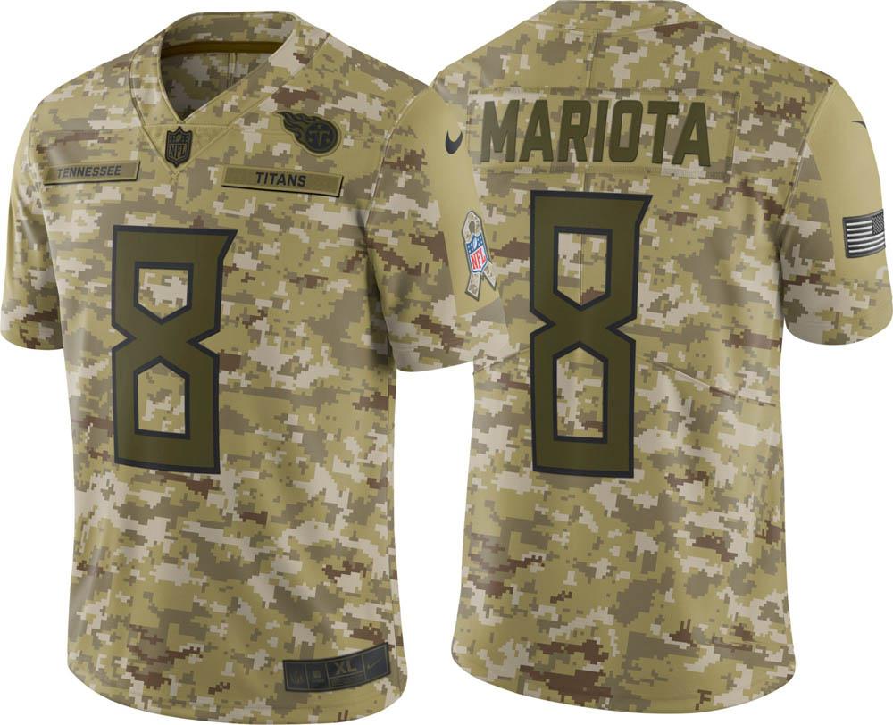 NFL タイタンズ マーカス・マリオタ ユニフォーム/ジャージ Salute to Service リミテッド ナイキ/Nike
