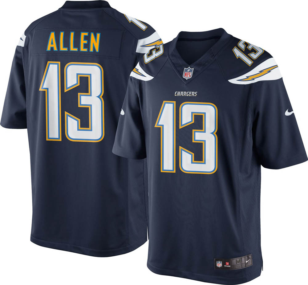 お取り寄せ お取り寄せ NFL チャージャース キーナン・アレン ユニフォーム/ジャージ リミテッド ナイキ/Nike ホーム