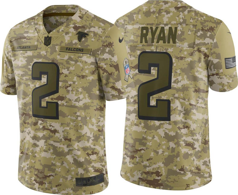NFL ファルコンズ マット・ライアン ユニフォーム/ジャージ Salute to Service リミテッド ナイキ/Nike