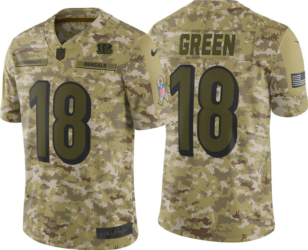 NFL ベンガルズ A.J. グリーン ユニフォーム/ジャージ Salute to Service リミテッド ナイキ/Nike