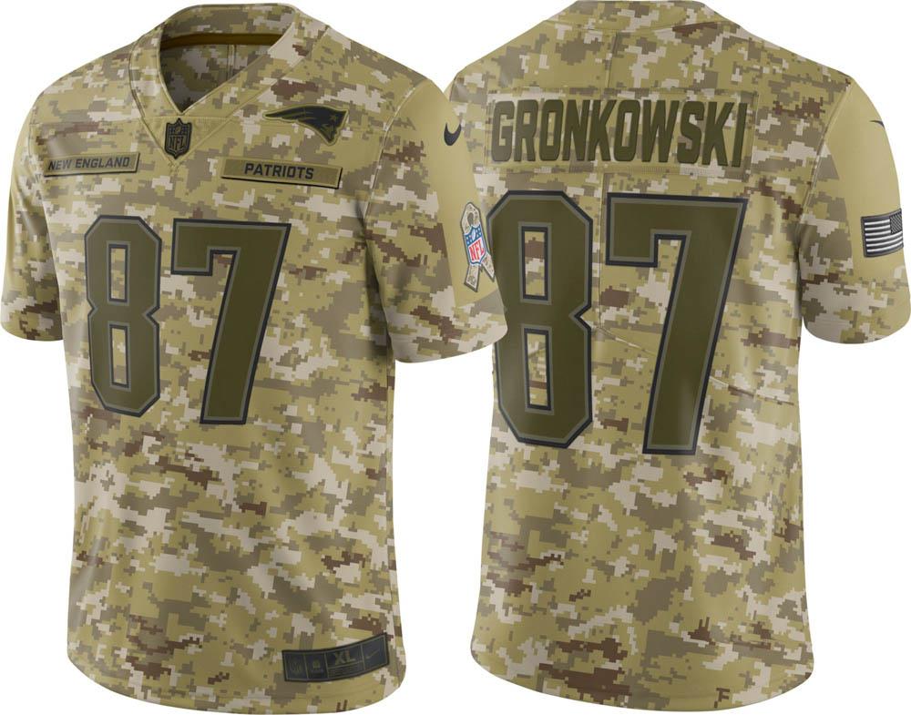 NFL ペイトリオッツ ロブ・グロンコウスキー ユニフォーム/ジャージ Salute to Service リミテッド ナイキ/Nike