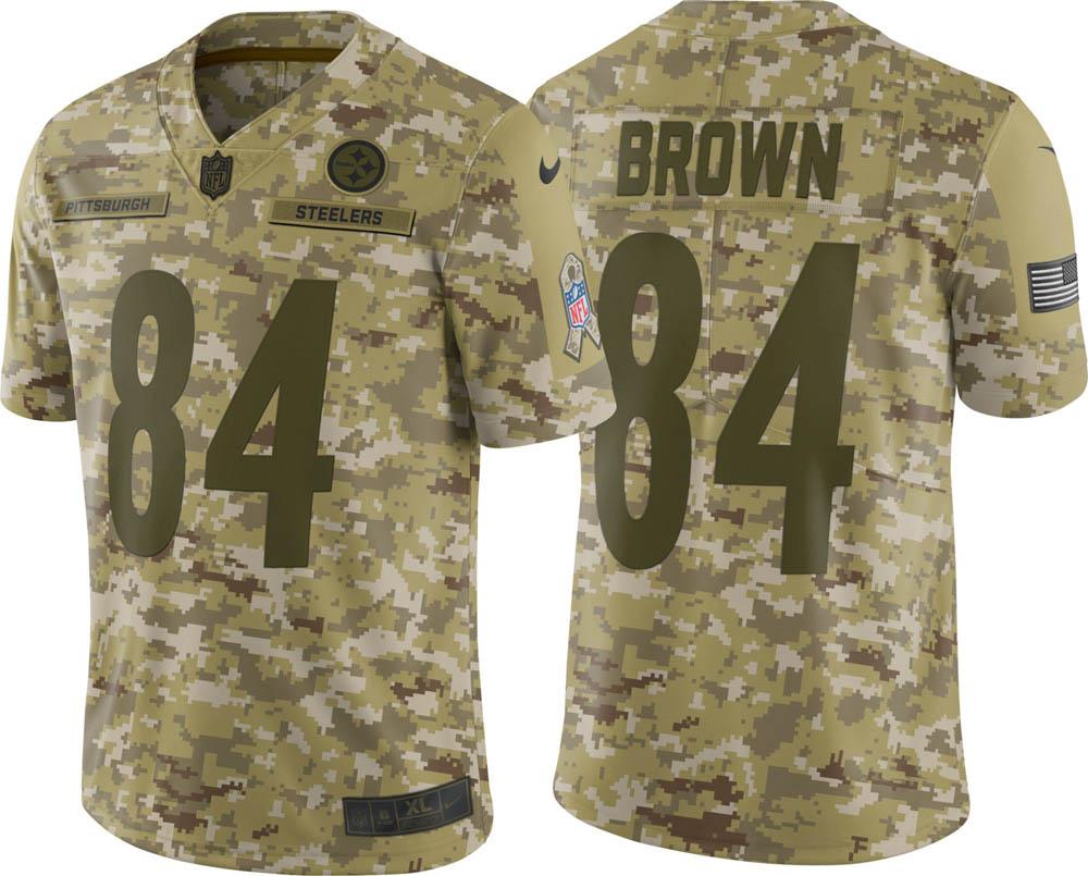NFL スティーラーズ アントニオ・ブラウン ユニフォーム/ジャージ Salute to Service リミテッド ナイキ/Nike