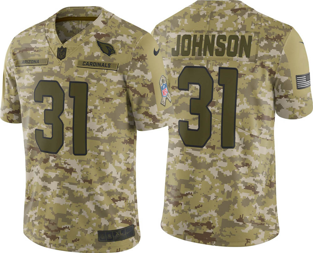 premium selection 66f7a 04fc1 NFL Cardinals D bit Johnson uniform / jersey Salute to Service limited Nike  /Nike