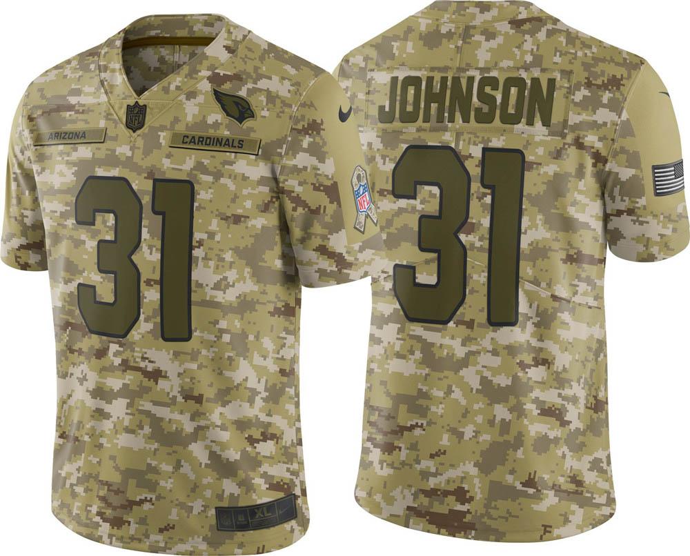 NFL カーディナルス デイビット・ジョンソン ユニフォーム/ジャージ Salute to Service リミテッド ナイキ/Nike