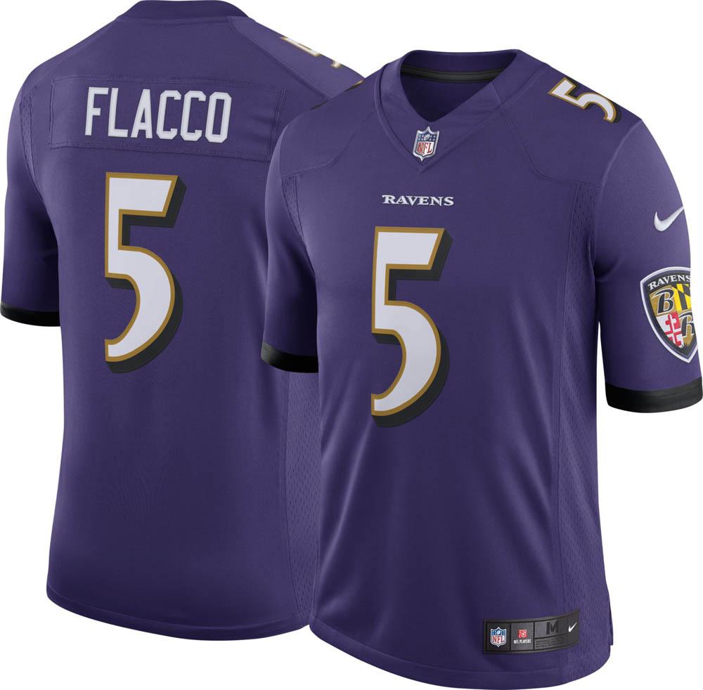 お取り寄せ お取り寄せ NFL レイブンズ ジョー・フラッコ ユニフォーム/ジャージ リミテッド ナイキ/Nike ホーム